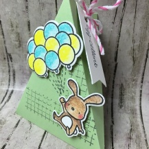 Gemischte Kreation: Mama Elephant, Panduro, Lawn Fawn, Stampin´Up