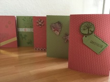 Gemischte Kreation: Stampin`Up, Panduro, Idee, Sissix